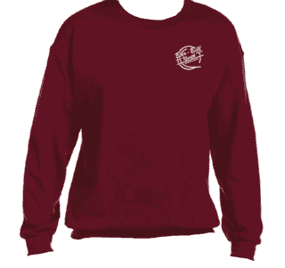 Garnet BBN Crewneck Sweatshirt