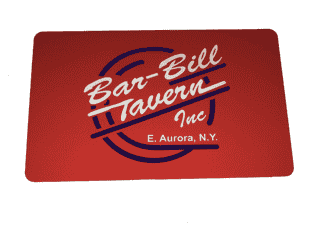 Bar-Bill Gift Card