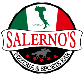 pizzeria and sports bar logo