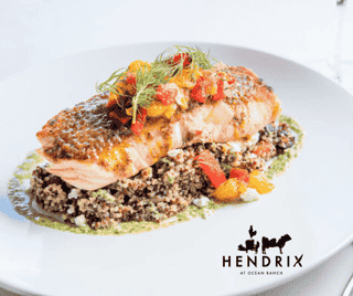 Hendrix Grilled Salmon