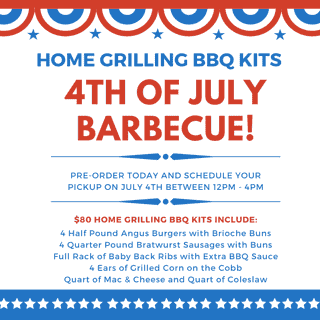 4TH OF JULY HOME GRILLING BBQ KITS