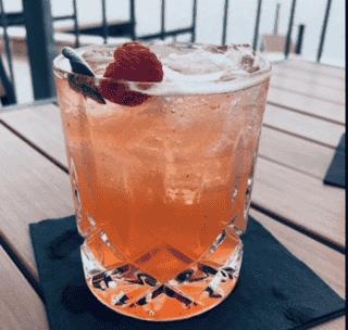 Raspberry Sage Margarita
