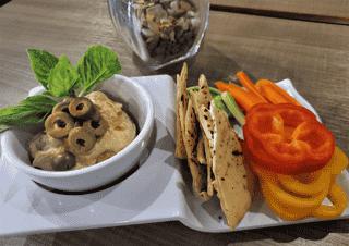 Unity Hummus Plate