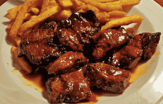 BBQ Steak Tips