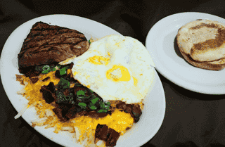Steak and Eggs*