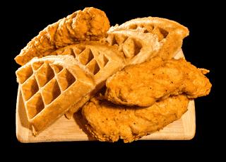3 Pc. Chicken & Waffles
