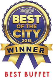 Best of the City 2018 - Top 5 - Best Buffet