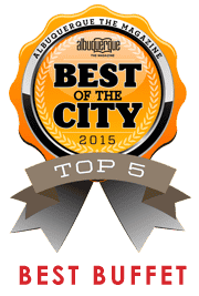 Best of the City 2015 - Top 5 - Best Buffet