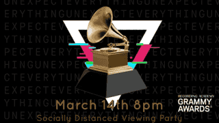 The Grammy's Socially Distanced Viewing Party