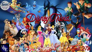 Disney Trivia!