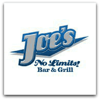 Joe's No Limits! Bar and Grill Logo