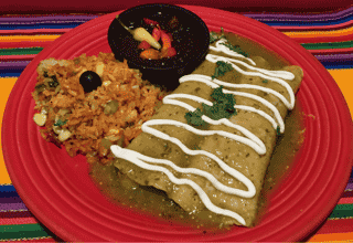 Enchiladas De Espinacas