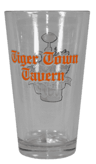 Tiger Town Tavern Beverage Glass