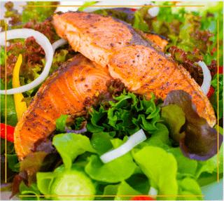 Salmon Shanty Salad