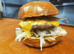 Kick Burger with Cheese