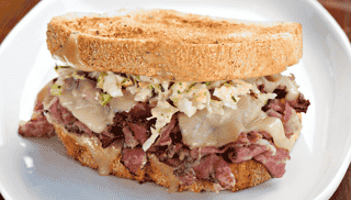 Empire Pastrami Reuben