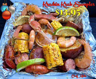 Krackin Krab Merry Christmas Sampler: ONLY 13.95 For the whole month of December
