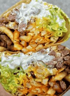 California Burrito Special