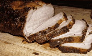 Applewood Smoked Pork Tenderloin