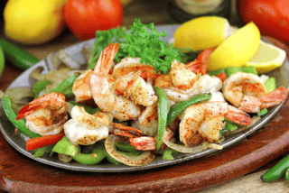 Shrimp Sizzlin' Fajitas