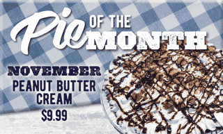 Pie of the Month - Peanut Butter Cream