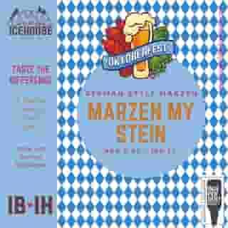 6. Marzen My Stein 5.0%   23 IBU