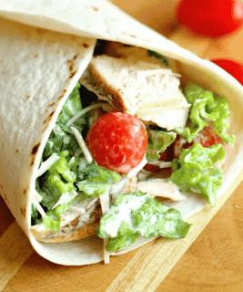 The Parkway Chicken Caesar Wrap