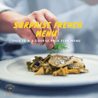Surprise French Menu