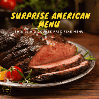Surprise American Menu