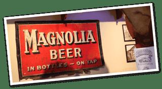 Magnolia Beer wall art