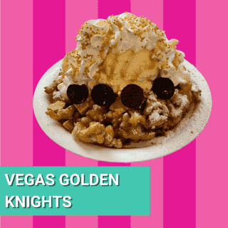 Vegas Golden Knights funnel cake