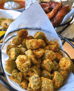 "Fried Okra ""Devils Popcorn"""