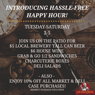 introducing hassle free happy hour