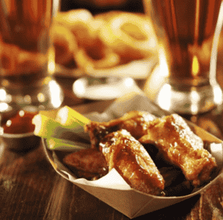 Monday Special: 60 cent wings (minimum 12 per order)