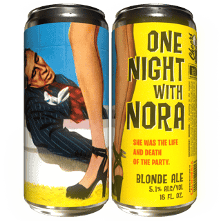 One Night With Nora 'Blonde Ale'