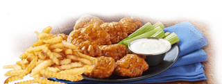 5 Pcs Boneless Wings Combo