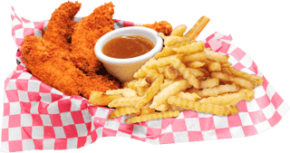 4 Pcs Buffalo Chicken Tenders