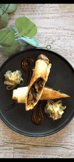 Homemade Duck Spring Roll