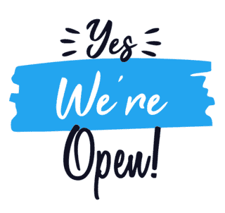 We're open!!