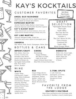 Kay's Kocktails