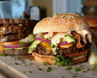 Bacon-Bacon Burger