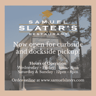 opening may 13th for curbside and dockside pick-up
