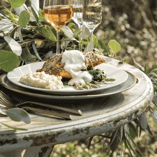plated dinner