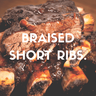Briased Short Ribs