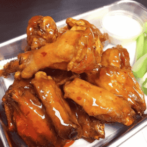 Wings - Mango Habanero (Hot!)