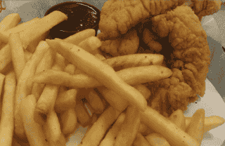Chicken Tender Plate*
