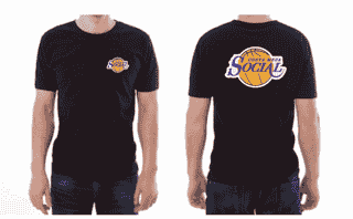 Social Laker Style Shirt