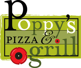 poppy's pizza & grill logo