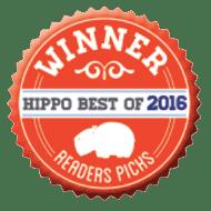 winner of the hippo best 2016 - reader's picks