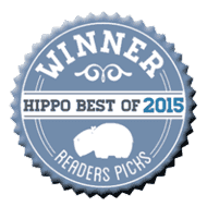winner of the hippo best 2015 - reader's picks